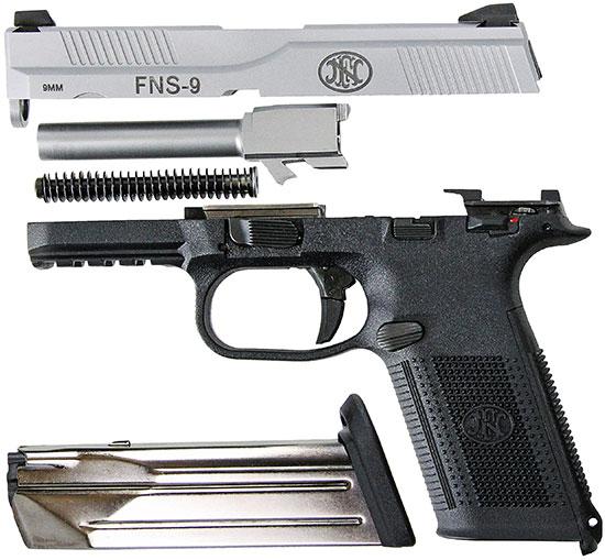 Неполная разборка FNS-9