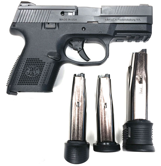 FNS-9 Compact с магазинами различной емкости