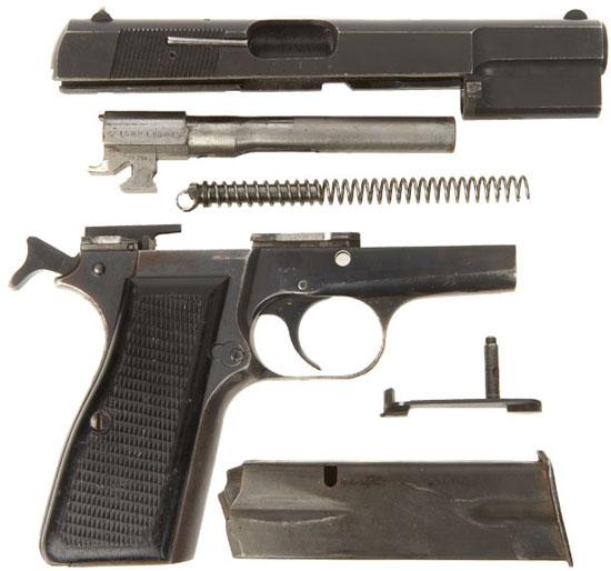 FN Browning High Power неполная разборка