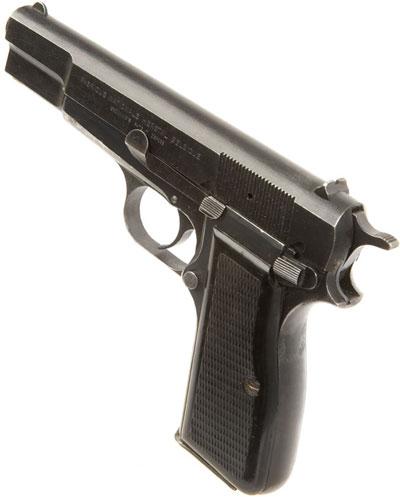 Browning High Power с постоянным прицелом