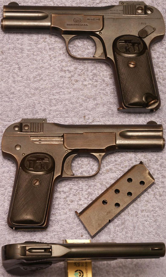 FN Browning M 1900