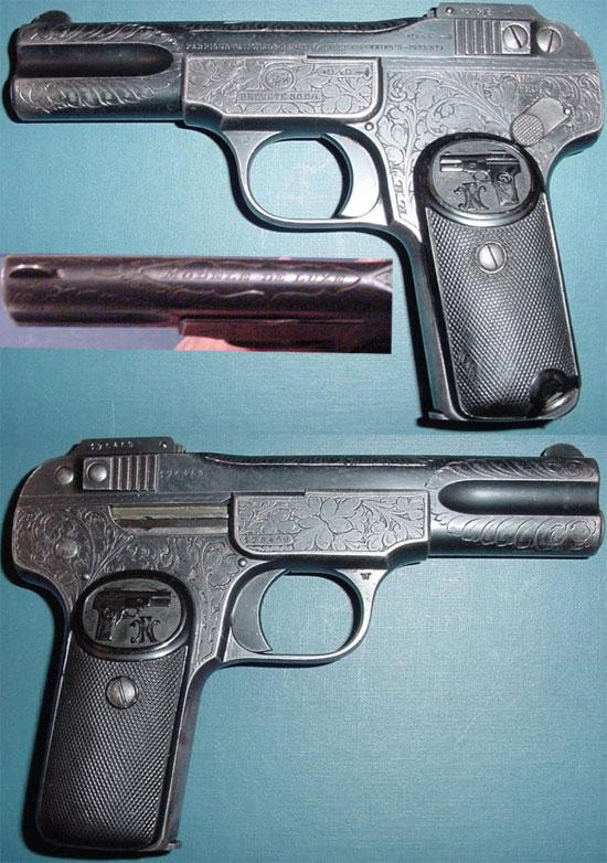 FN Browning M 1900 «MODELE DE LUXE»
