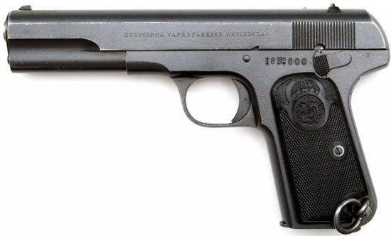 FN Browning M 1903 / 07 производства шведской компании «Husqvarna»