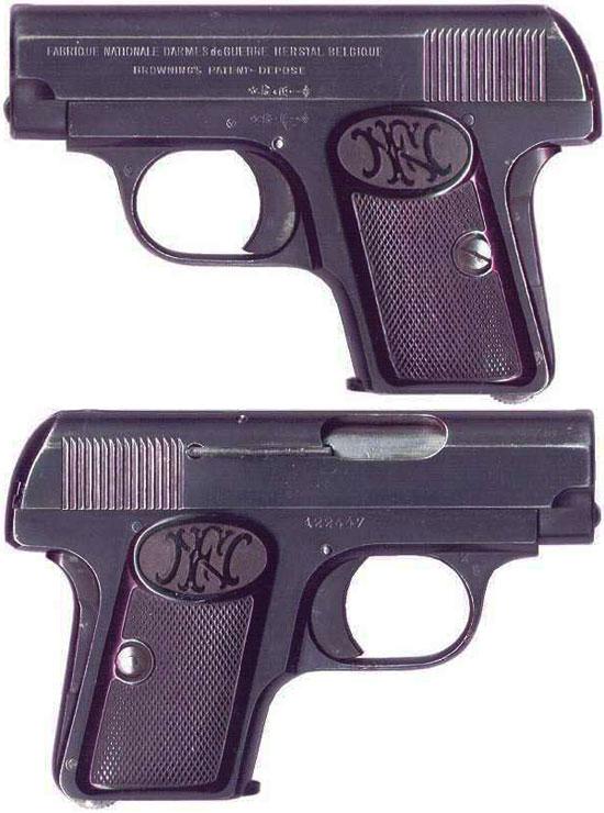 FN Browning M 1906 ранняя