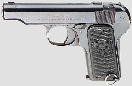 Melior New Model калибра 7.65 мм (образца 1920 года)