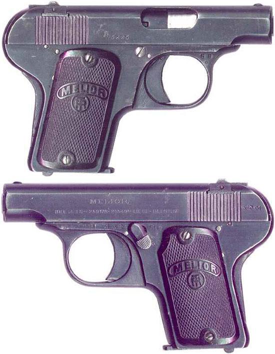 Melior New Model калибра 6.35 мм (образца 1920 года)