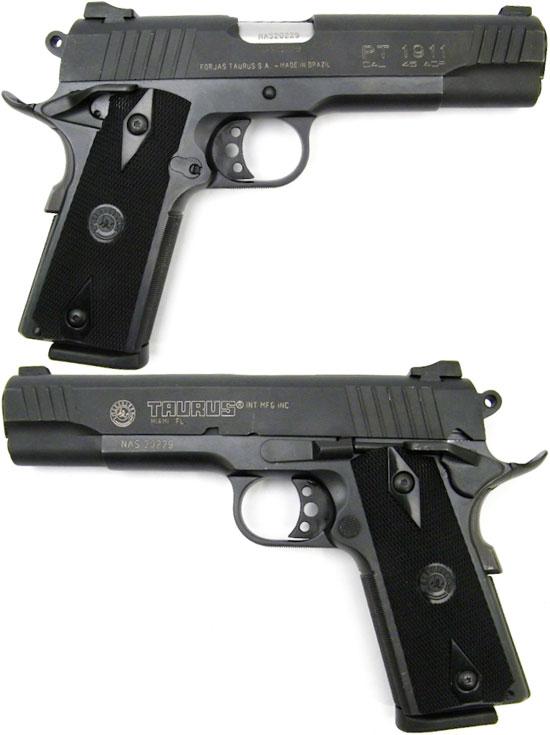 Taurus PT 1911B под патрон .45 ACP