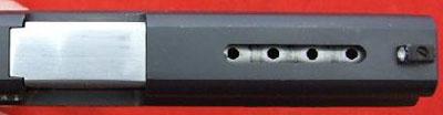 Taurus PT 945C вид на компенсатор