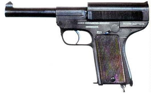 Schouboe M1907 калибра 11.35 мм