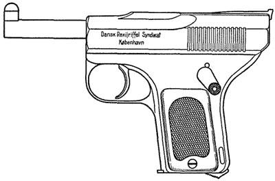 Schouboe M1903 калибра 7.65 мм