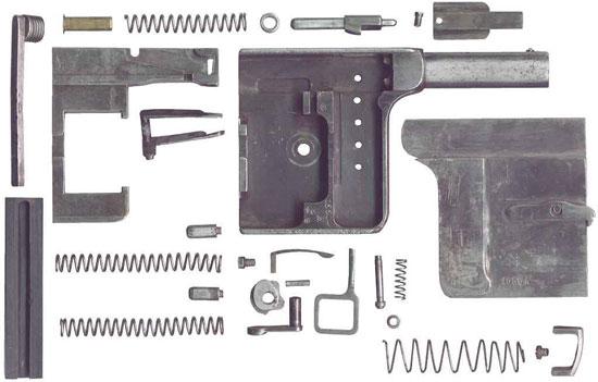 Gaulois № 1 детали пистолета