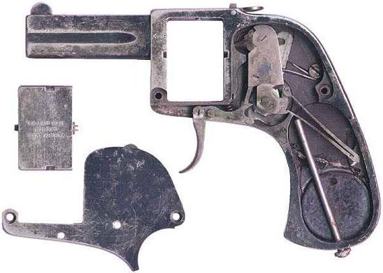 Sauer BÄR устройство пистолета