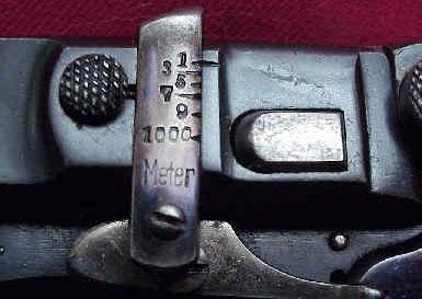 регулируемый целик Bergmann 1897 Nº5