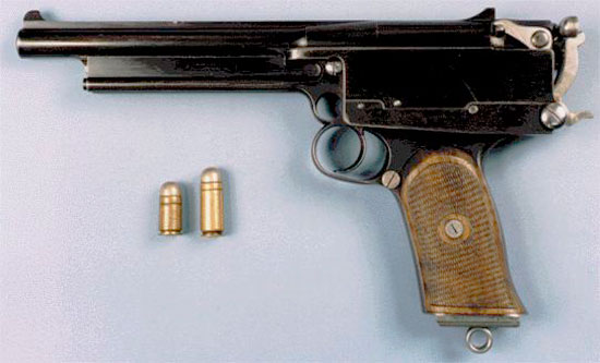 Пистолет «Mars» калибра 11.2 мм с боеприпасами