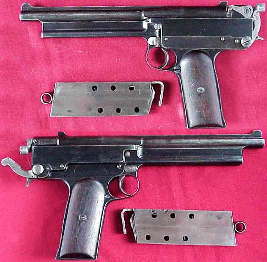 Пистолет Gabbet-Fairfax Mars / Webley Mars