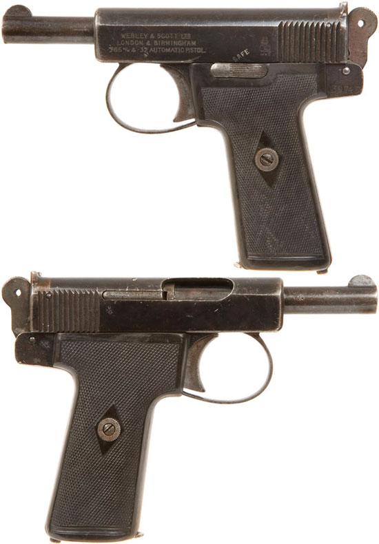 Webley & Scott M 1906 (после усовершенствования)