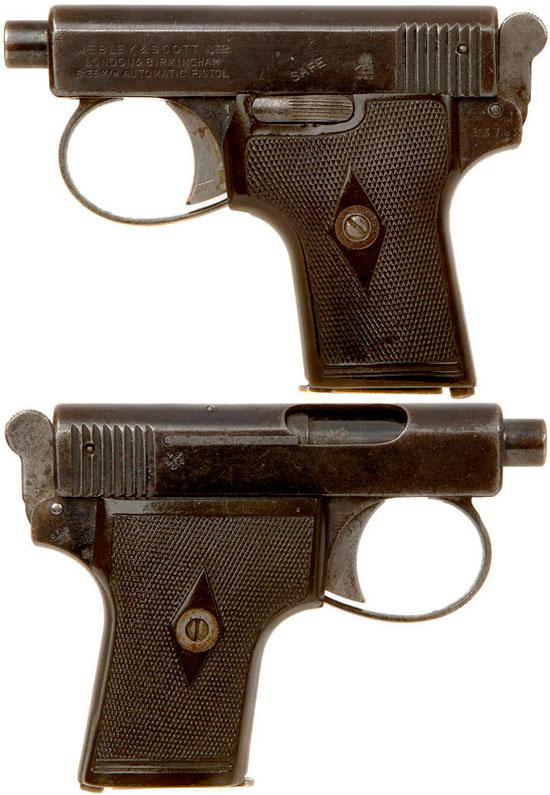 Webley & Scott M 1907