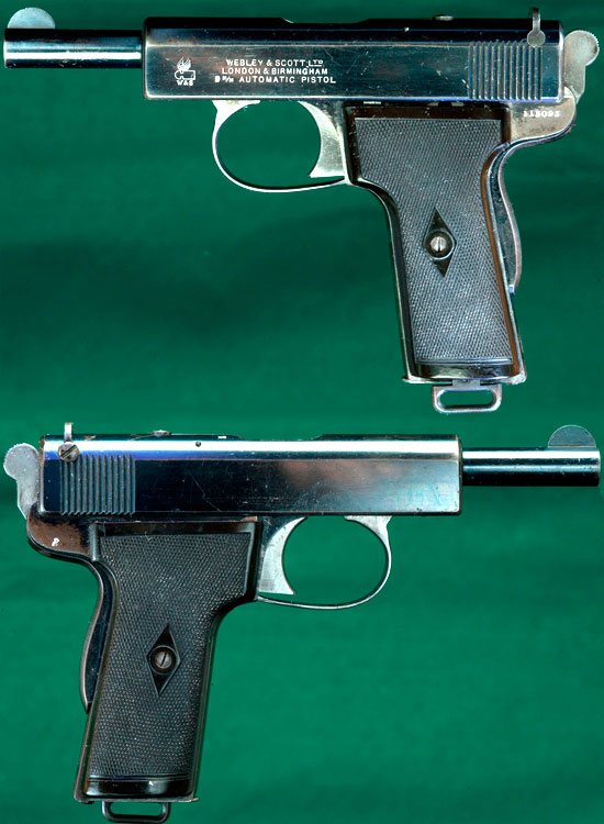 Webley & Scott M 1909 (вид слева и справа)