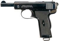 Пистолет Webley & Scott M 1909
