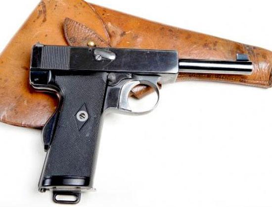 Webley & Scott M 1910 с рамочным автоматическим предохранителем