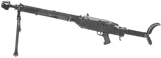 ПТР BSW Model 1 в боевом положении