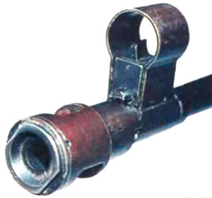 дульный тормоз и мушка ПТР PzB 39