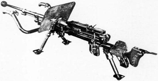 Type 97 с установленным бронещитком