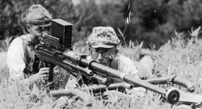 Type 97 при использовании японскими солдатами