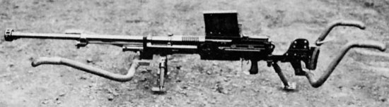 Type 97 (хорошо видны съемные рукоятки для переноски оружия)