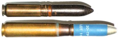 20x72 RB (сверху) и 20x110 RB (снизу)