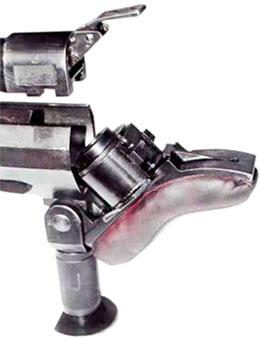 Откинутый плечевой упор-амортизатор Solothurn S18-100