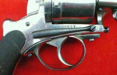 Gasser-Kropatschek M1876 вид на предохранитель