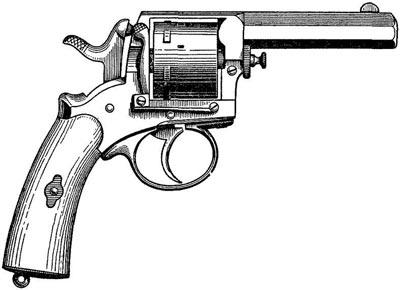 «Жандармский» револьвер Гассера