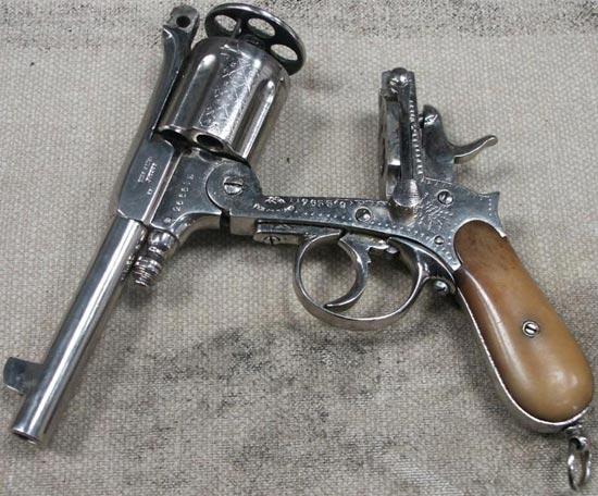 Gasser M1880 Montenegrin при перезаряжании