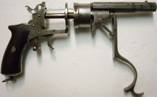 Galand M 1868 при перезаряжании