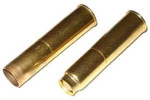 гильза и патрон 7.62x38 R для револьвера Nagant M 1895