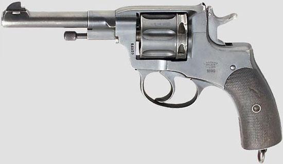 Nagant M 1895 производства бельгийской фирмы Nagant