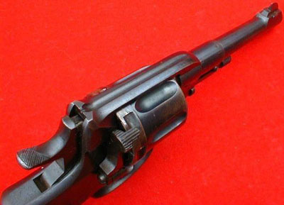Nagant M 1895 вид сверху
