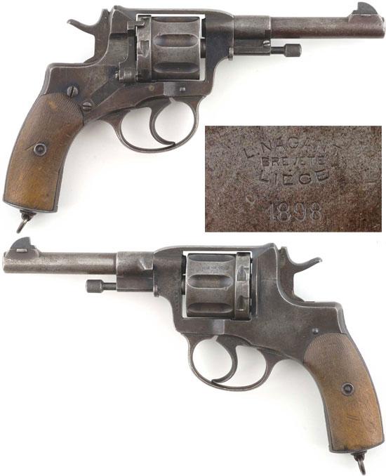 Nagant M 1895 выпуска 1898 года производства бельгийской фирмы Nagant