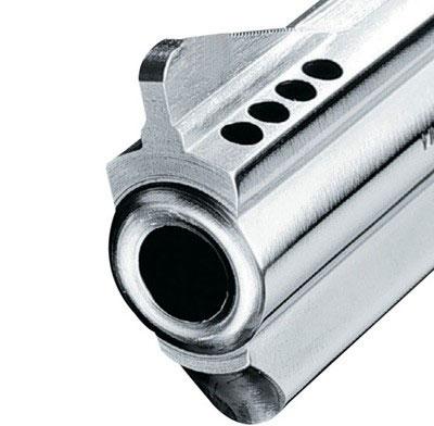 вид на компенсатор револьверов серии Taurus M44