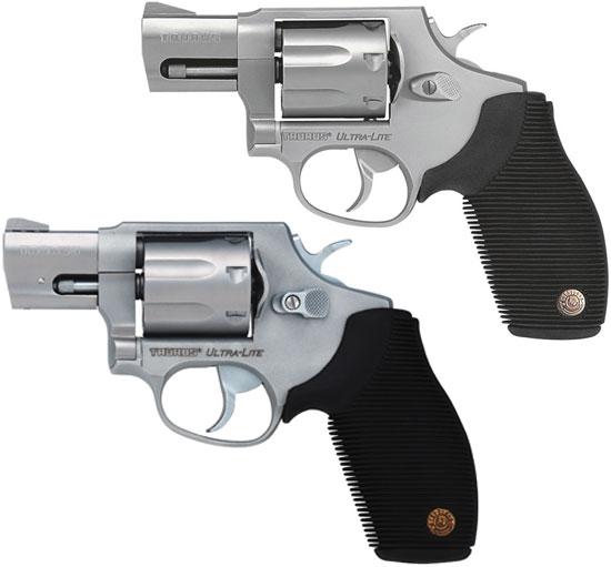 Taurus M 817 SS2 UL (сверху) и Taurus M 817 SS2 UL C с компенсатором (снизу)