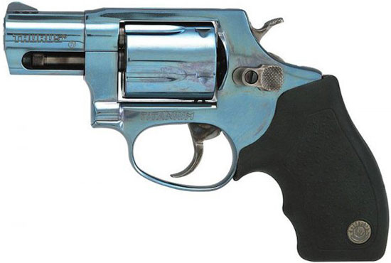 Taurus M 85 TBC (TOTAL TITANIUM MODEL 85 .38 SPL. REVOLVER IN BRIGHT SPECTRUM BLUE)