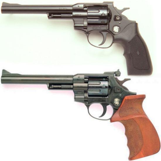 Arminius HW 7 (сверху) и Arminius HW 7 S (снизу) в модернизированном исполнении