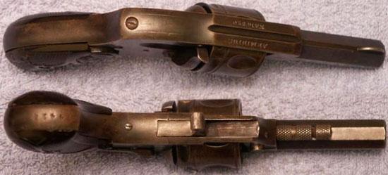 Arminius калибра .320 со скрытым курком и складным спусковым крючком