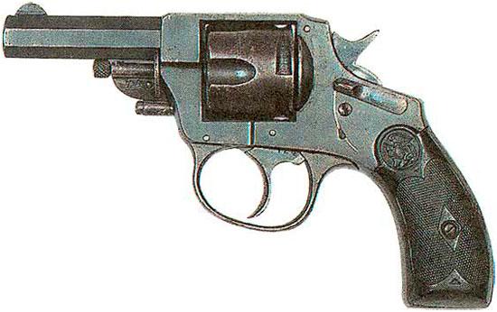 Arminius калибра 7.65 мм с открытым курком и спусковой скобой