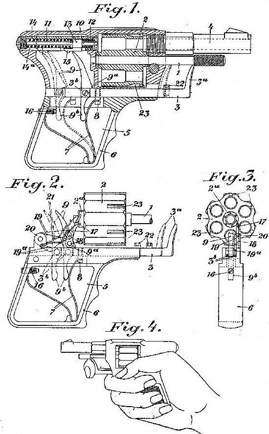 схемы из патента револьвера Деккера