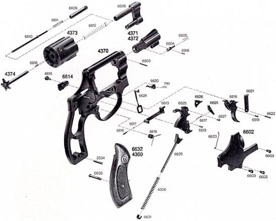 Взрыв-схема ERMA ER 432