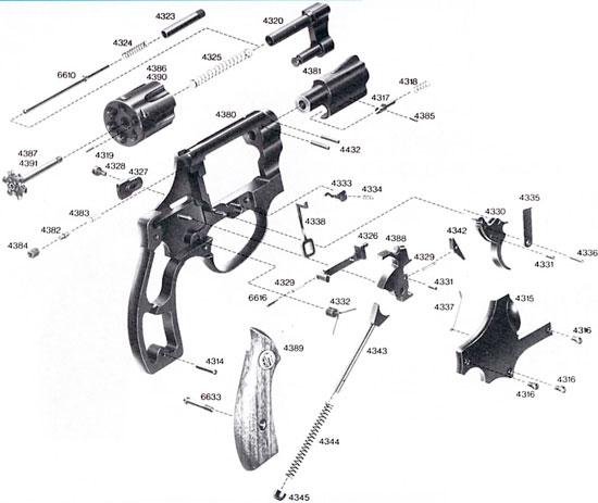 Взрыв-схема ERMA ER 442