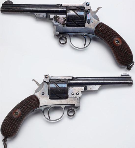 Mauser M 1878 No 2 Zig-Zag калибра 9 мм