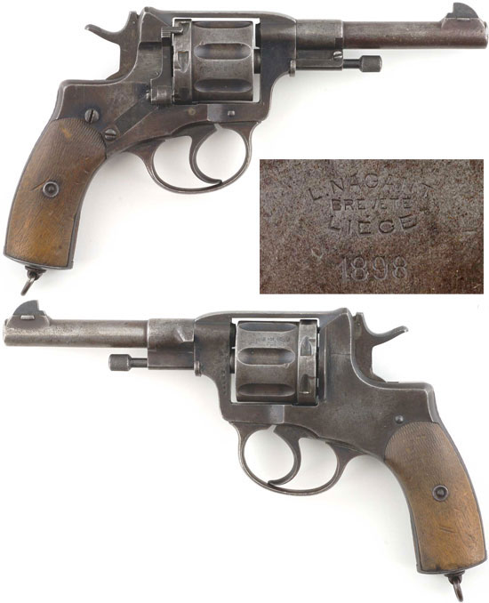 Наган обр 1895 года производства бельгийской фирмы братьев Наган